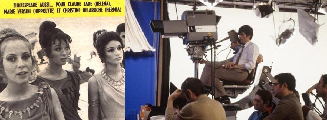 Statt Musikvideos für France Gall, Françoise Hardy, Gainsbourg, Bécaud, Hallyday ein Film mit Schauspielern
