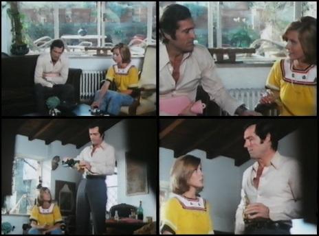Claude Jade, Frederick Stafford, La ragazza di via Condotti, La chica de via Condotti, Meurtres à Rome