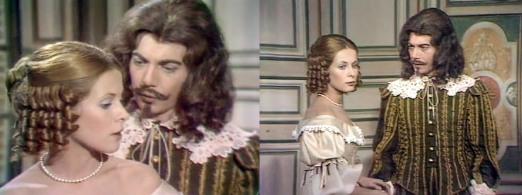 Louise de La Vallière (Claude Jade) und der Comte de Lauzun (Pierre Nunzi)