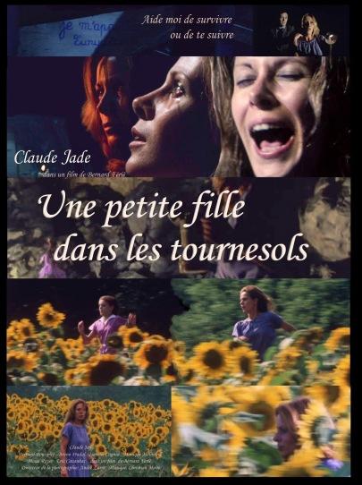 Une petite fille dans les tournesols, film de Bernard Ferie, avec Claude Jade, Bernard Rousselet, Bruno Pradal, Isabelle Cagnat