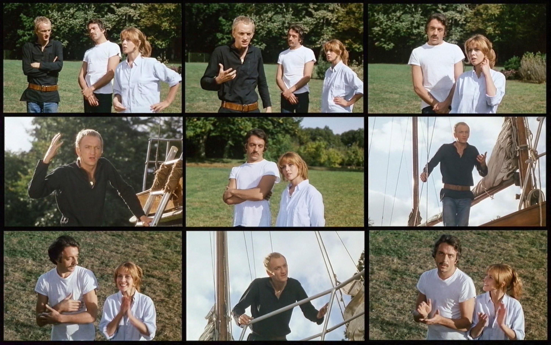 John McEnery gibt für Claude Jade und Jean-Pierre Cassel den Hamlet