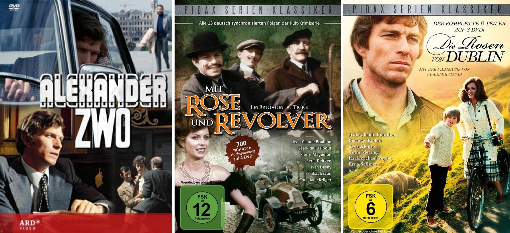 jean-claude Bouillon serien tv alexander zwo brigades du tigre roses de dublin rose und revolver rosen von dublin