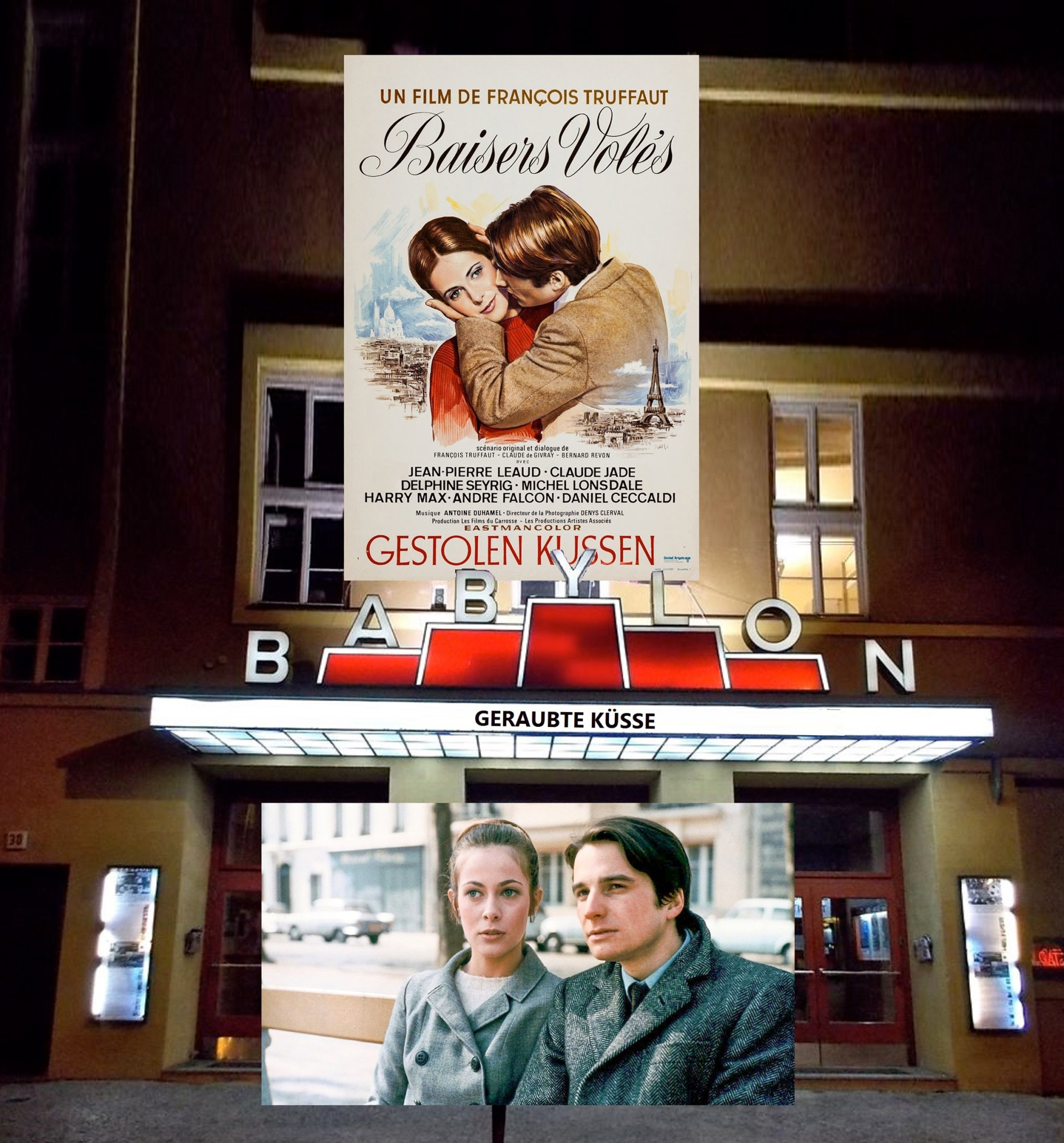 Babylon berlin kino geraubte kuesse truffaut