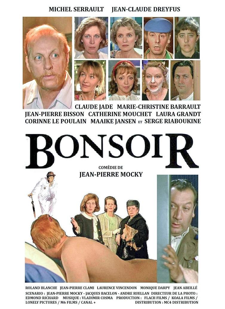 Bonsoir, Jean-Pierre Mocky, film, Michel Serrault, Claude Jade