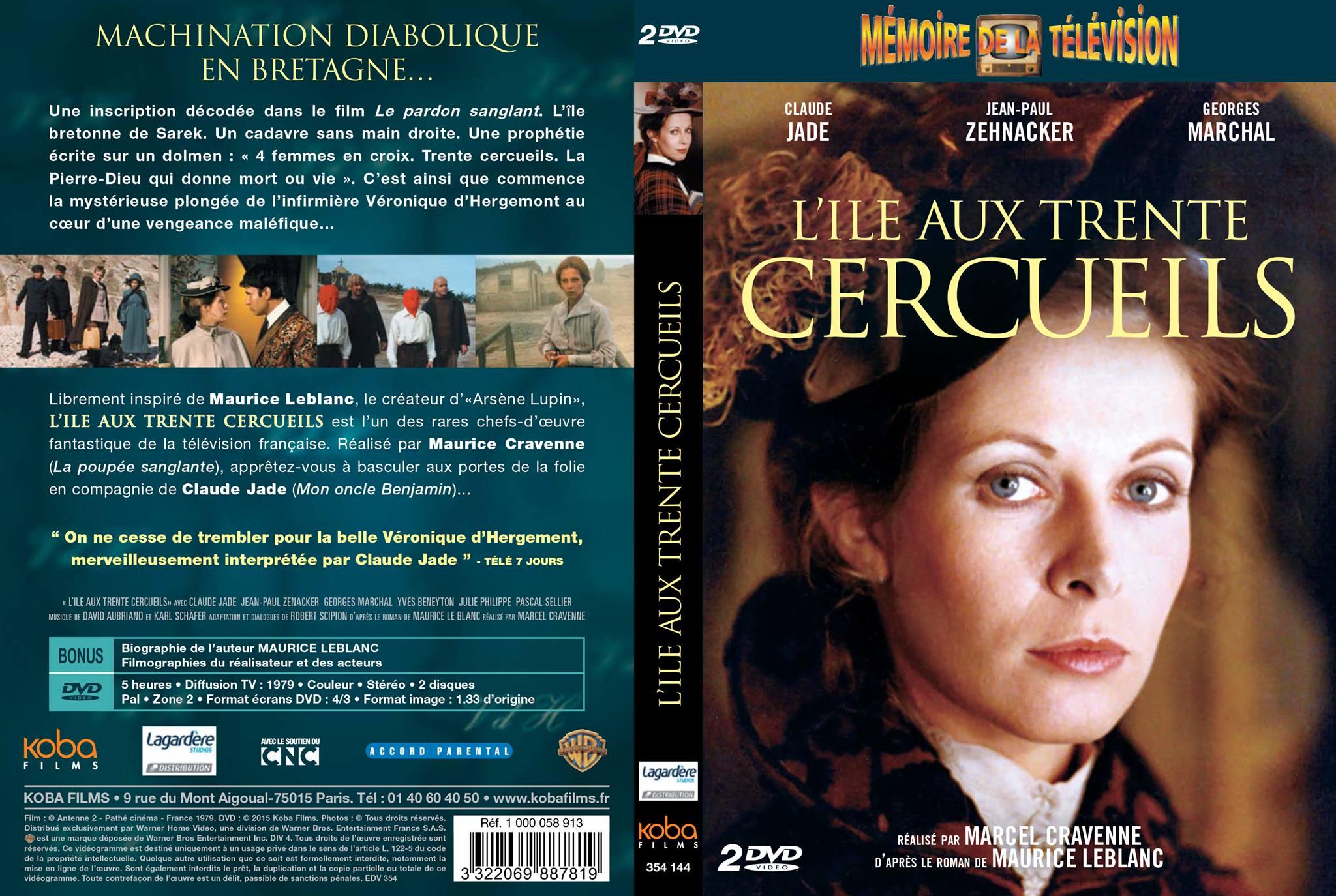 Claude Jade, Ile aux rente cercueils, Insel der 30 Tode, Insel der dreißig Särge DVD