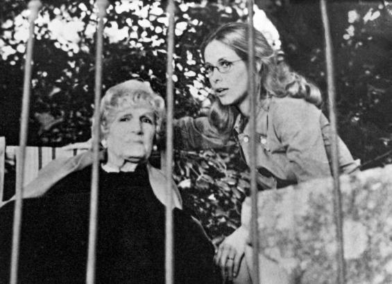 Claude Jade, Mary Marquet, Le malin plaisir, mary marquet claude jade le malin plaisir 1975 chateau d arpaillargues