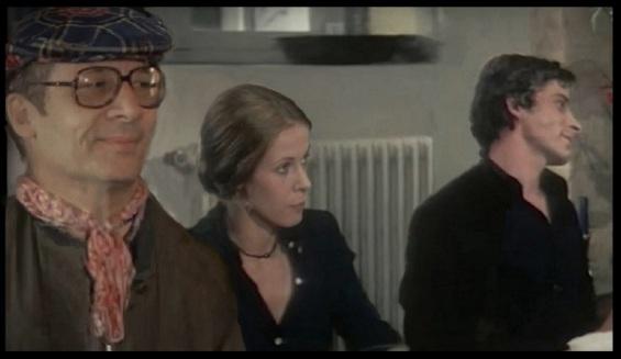 """Bernard Toublanc-Michel réalisateur francais pendant le tournage """"Le malin plaisir"""" avec Claude Jade et Jacques Weber Bernard T. Michel"""